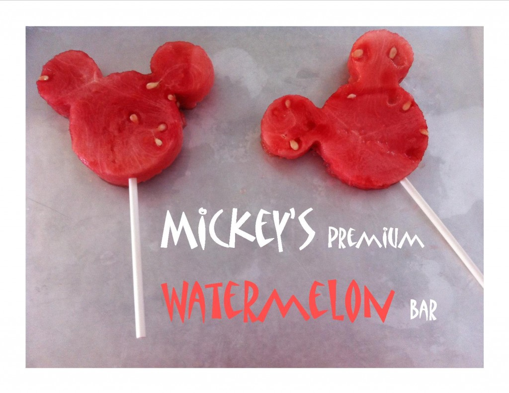Mickey's Watermelon Bar