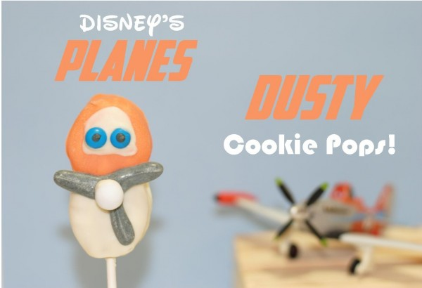 Dusty cookie pops