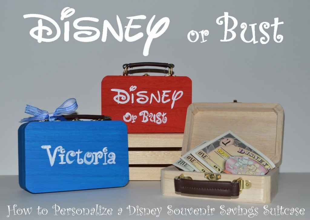 Disney Saving Suitcase
