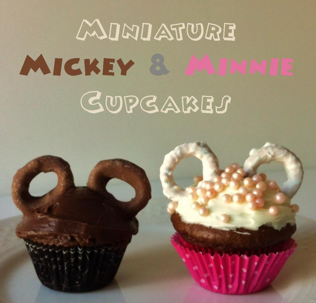 Miniature Mickey Cupcakes
