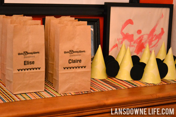 Favor Bags Mickey Ears