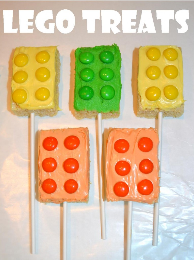 Lego Treat Pops