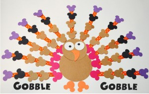 Turkey Day Art Project