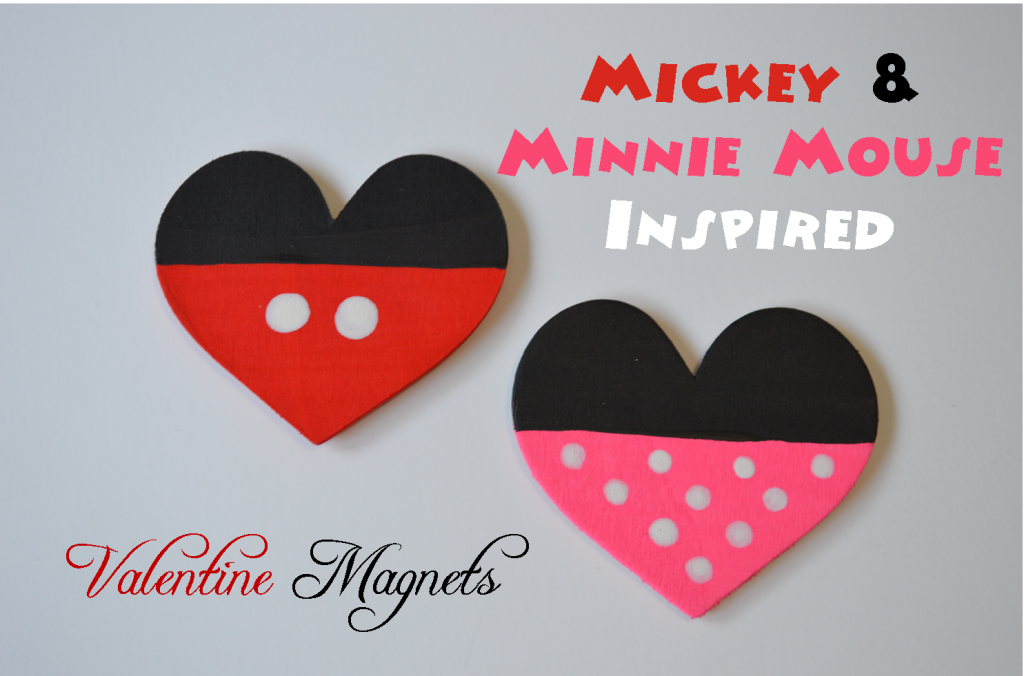 Mickey Inspired magnets