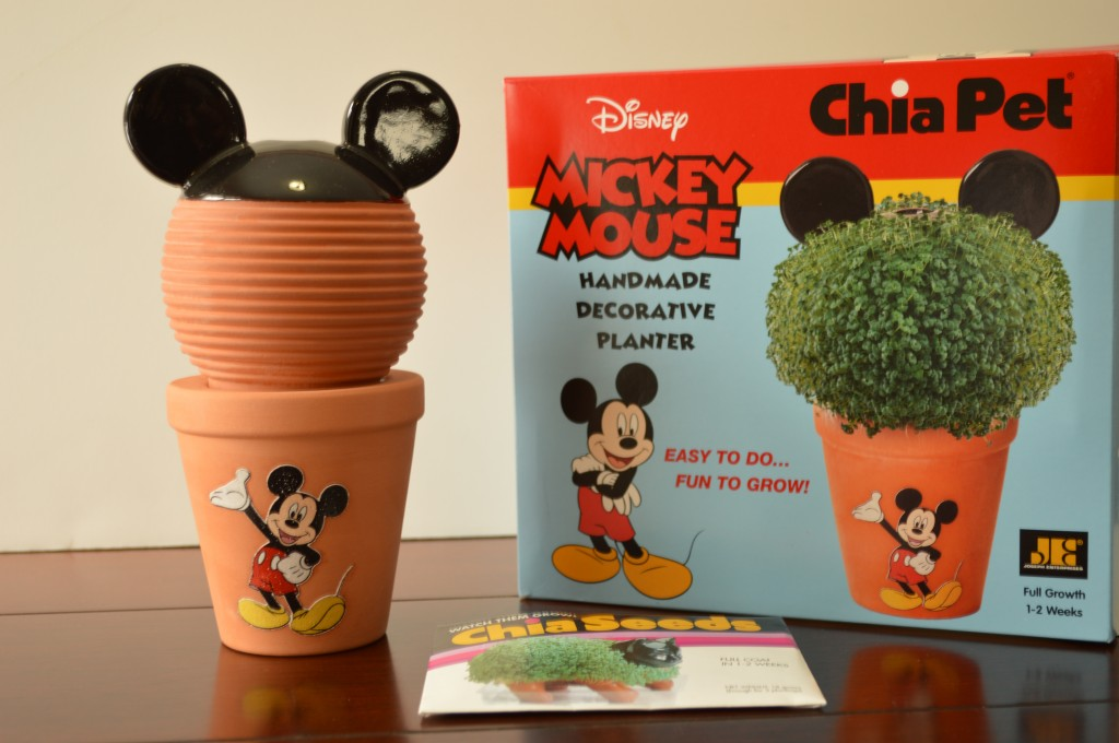 Mickey Mouse Chia Pet Kit