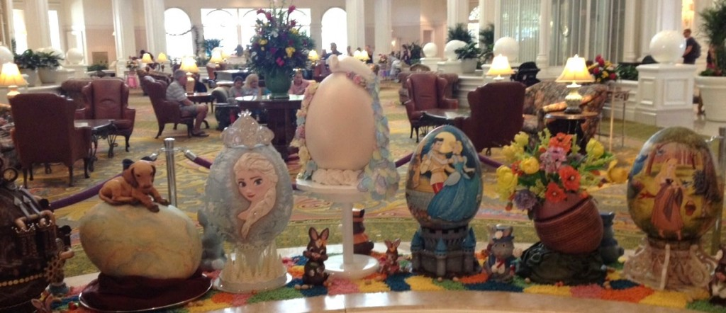 Grand Floridian Easter Eggs in loggy