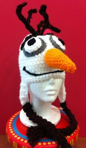Olaf Inspired Frozen hat
