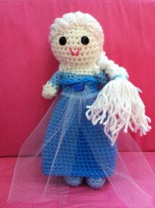 Elsa Inspired Frozen Doll