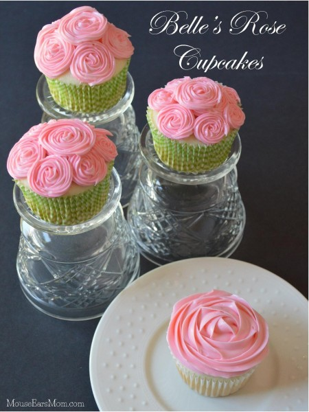Belle Rose Cupcakes