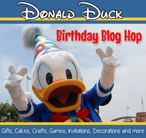 Donald Duck birthday blog hop