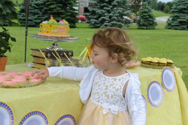 Victoria's Belle Birthday Party