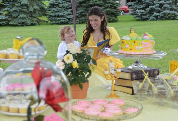 Princess Belle Inspired Birthday Party
