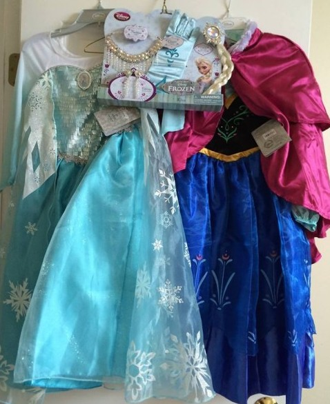 Frozen in Summer Costume Giveaway