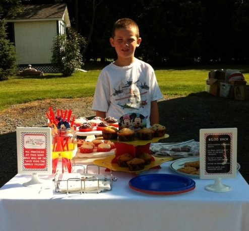 Give Kids the World Bake Sale