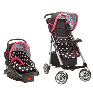 Disney Saunter Sport LC-22 Travel System Coral Flowers Minnie Mouse