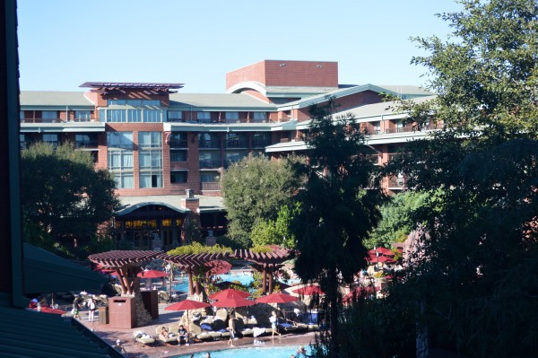 Villa at Disneys Grand Californian Hotel Pool View