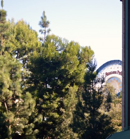 View of California Adventure park from a Deluxe Studio room.