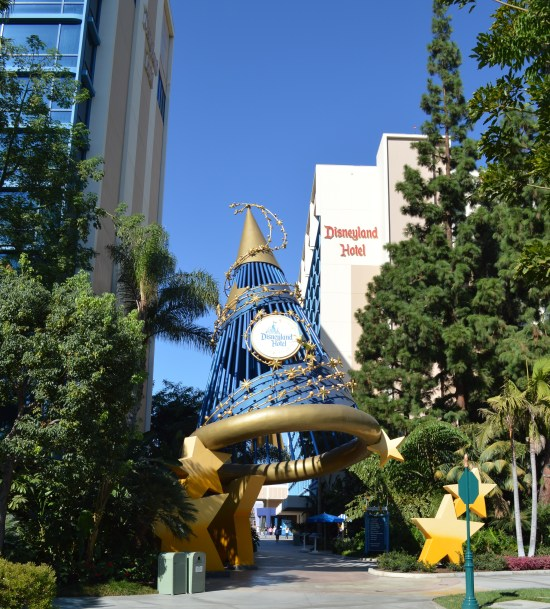 Entrance to Disneyland Hotel from Downtown Disney