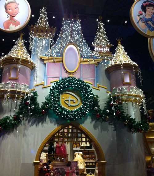 NYC Disney Store Christmas