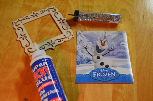 Dollar Store Olaf Ornament Tutorial