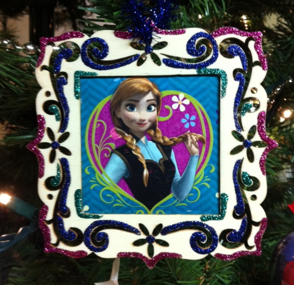 Disney Frozen Anna Hand Made Ornament