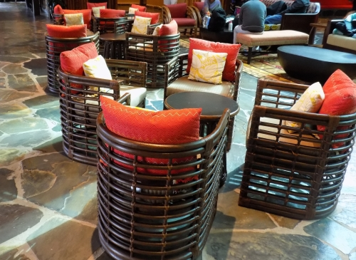 Disney's Poynesian Resort Lobby Furniture