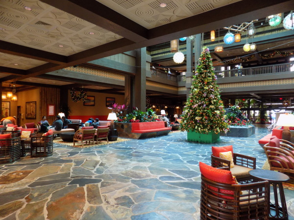New lobby at the Polynesian Resort