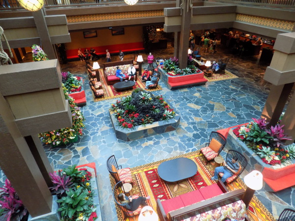 Disney's Polynesian Resort new lobby