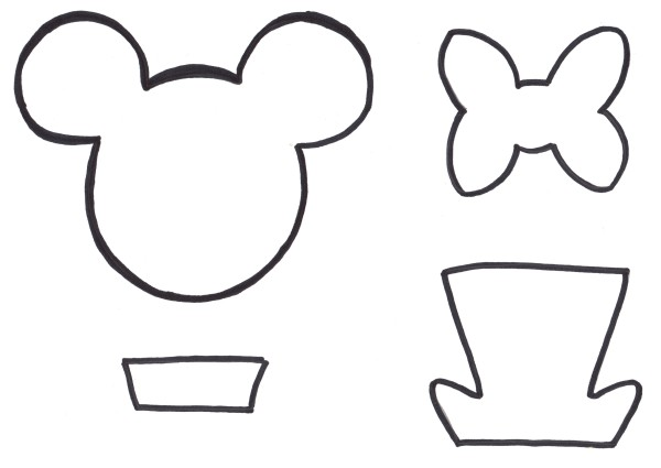 Free printables mouse ears mom for Free printable minnie mouse bow template